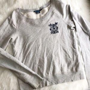 Ralph Lauren • Crop Crewneck Sweater